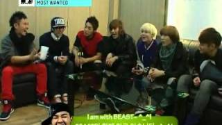 [B2STLYSUBS] 091202 MTV Most Wanted - BEAST #2 (2/3)