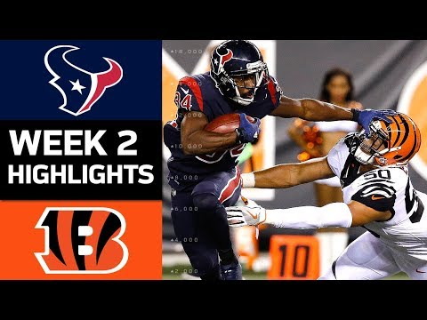 Texans vs. Bengals | NFL Week 2 Game Highlights