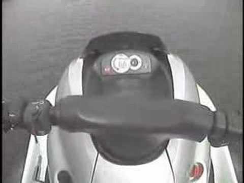 Brad's helmet cam. Yamaha GP1200r Waverunner
