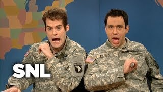 Weekend Update: The Gay Couple from New Jersey on Being in the Military - SNL