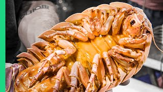 Vietnam's Seafood NIGHTMARE!!! Extreme Food Tour in Saigon!!
