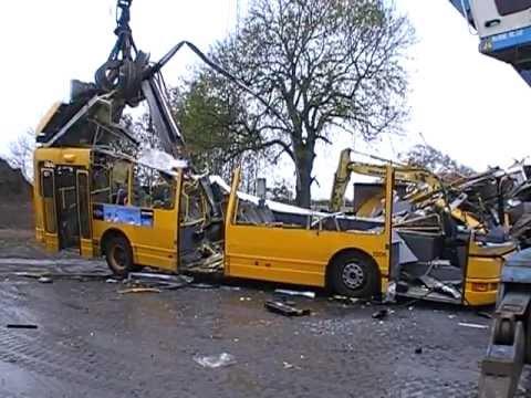 City-Trafik #2206 DAB Citybus 15-1200C at the scrap yard