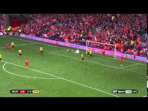 Jordan Henderson vs Borussia Dortmund. (10.08.2014)