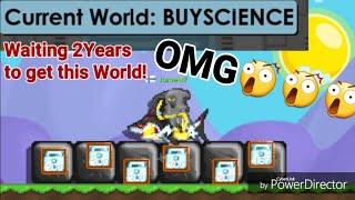 Buying My Dream World For  1100DLs + ( BUYSCIENCE ) - Growtopia