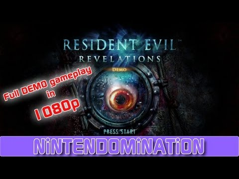 WiiU - Resident Evil Revelations - Full DEMO footage in 1080p