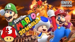 ABM: Super Mario 3D World (Walkthrough # 1) HD