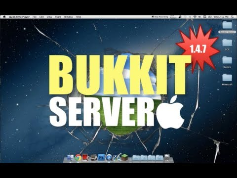 Beginner's Guide - How to make a Minecraft Bukkit Server on Mac with Port Forwarding