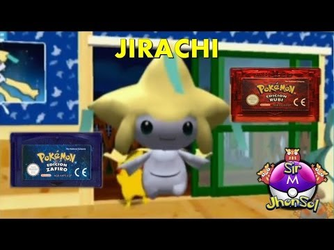 Obtener a Jirachi en sus Juegos de 3ra Generación - Pokemon Channel
