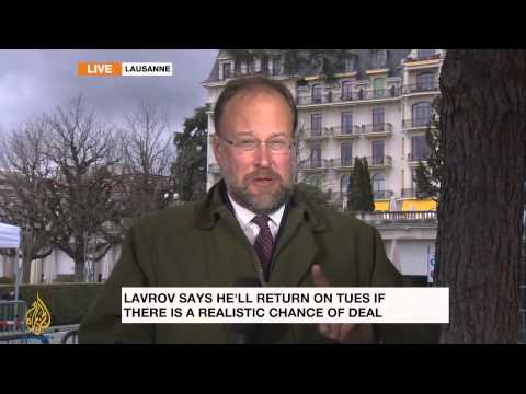 Latest updates from Iran nuclear talks in Lausanne