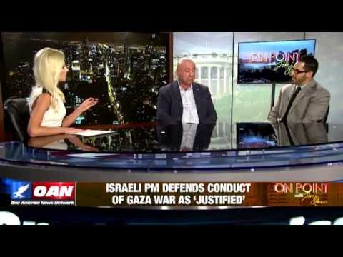 Tibi Zohar debates a Palestinian on One America News Network