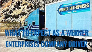 What To Expect As A Werner Enterprises Company Driver