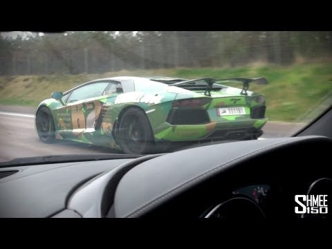 Gumball 2013: Copenhagen to Stockholm - LP640, Oakley Aventador, SLR and more!