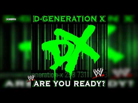 Wwe: are You Ready? (d-generation X) Theme Song + Ae (arena Effect) video