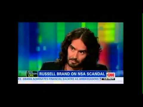 Russell Brand On Piers Morgan Talks Edward Snowden Bradley Manning