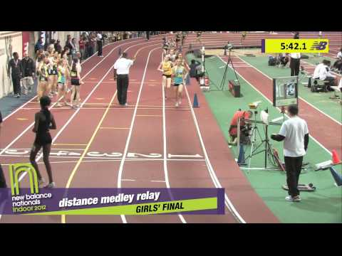 G DMR H02 (Grosse Pointe w/Meier twins 11:39.29, HS Indoor Nationals 2012)