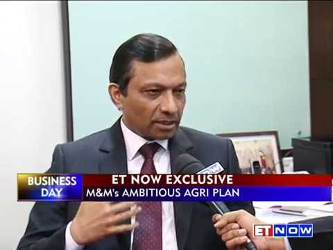 Pawan Goenka Of M&M Working Towards Doubling Its Agricultural Business' Turnover