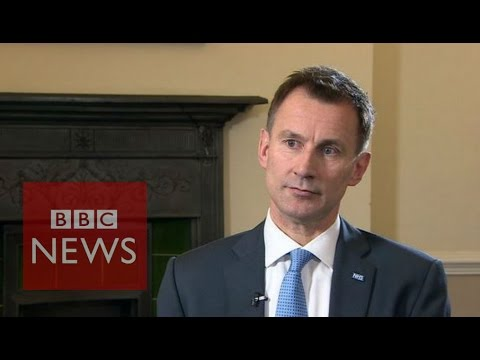 Junior doctors: Jeremy Hunt rejects call for Acas talks - BBC News
