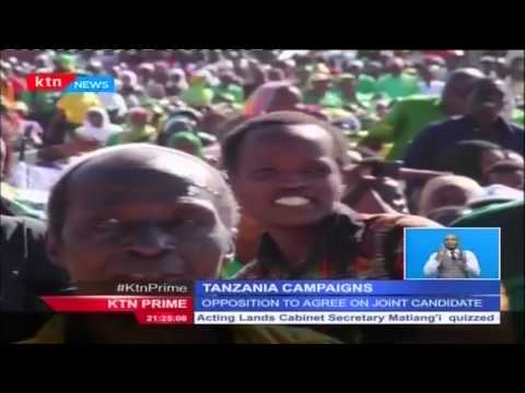 Political temperatures in Tanzania rising following  conclusion of CCM presidential nominations