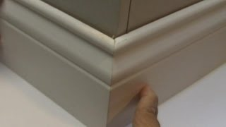 Install Perfect Outside Baseboard Corners/Easy Math Trick
