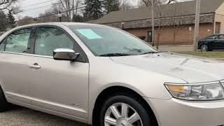 2007 *Lincoln MKZ* AWD 104K AUTO LOADED WARRANTY AVAILABE (Akron, Ohio)