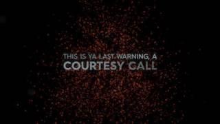 Thousand Foot Krutch - Courtesy Call (Lyric Video)