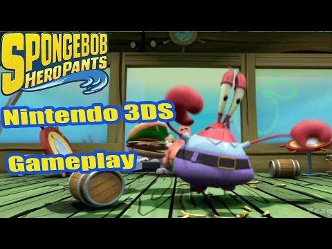 Spongebob HeroPants - Nintendo 3DS Gameplay Walkthrough - First 15 Minutes [ 3DS ]