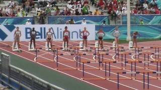 IAAF World Junior Championships Moncton 2010 - 100m hurdles women heat 3