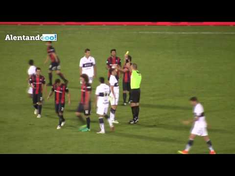 Los goles de Gimnasia LP contra San Lorenzo