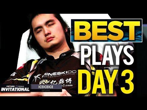 BEST PLAYS StarLadder Invitational 4 Minor DOTA 2 - Day 3