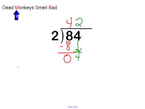 Division 2 Digit by 1 Digit Lesson 1