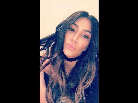 KIM KARDASHIAN SNAPCHAT VIDEOS (ft.North West,Kanye West,etc.)