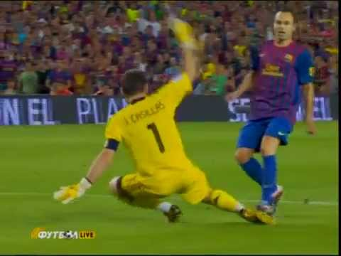 Barcelona vs Real Madrid 3 2 Super Coupe d'Espagne 18 8 2011