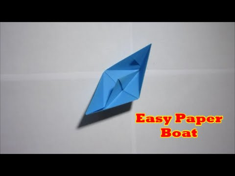 Paper Boat - Easy Origami
