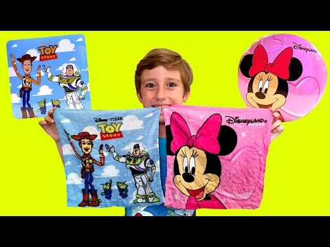 Disney Magic Towels: Minnie Mouse & Toy Story 3 Towels