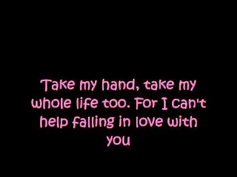 A-Teens - Can't Help Falling In Love [Lyrics] [HQ]