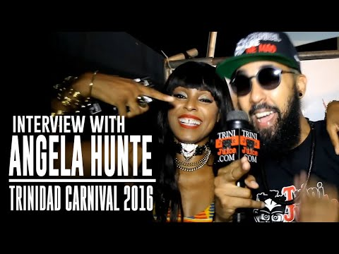 Angela Hunte Interview - Machel Monday 2016