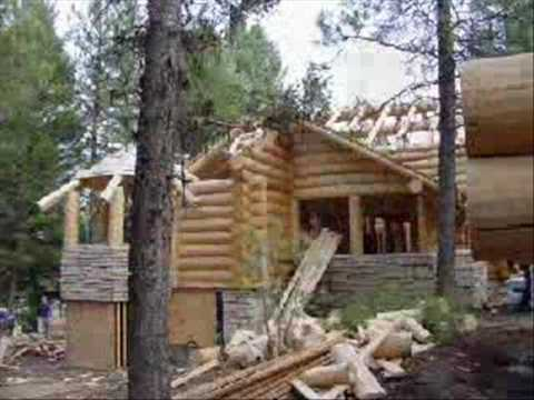 Springdale Luxury Log Home by Avalon Log Homes