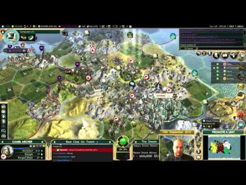 Civilization 5 Multiplayer 144: Japan [5/6] ( BNW 6 Player Free For All) Gameplay/Commentary