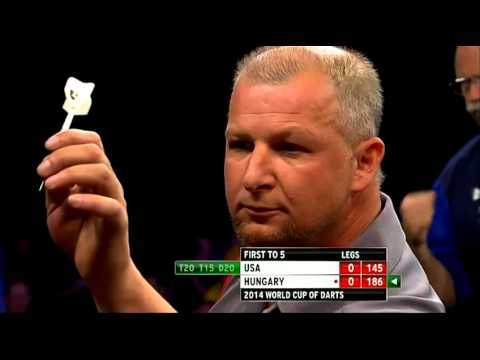 Dart Players with Strange Throws Part 4