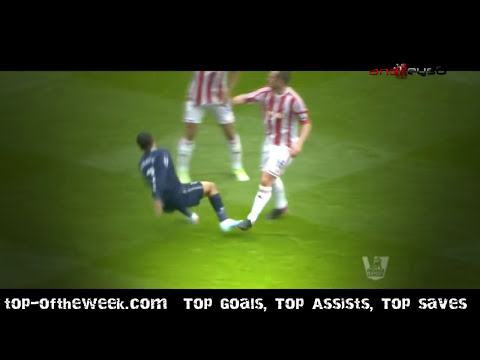 Gareth Bale and Aaron Lennon vs Stoke City 12-13 by andreys0