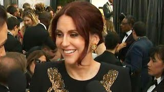 SAG Awards 2019: Megan Mullally Reveals She Online Shopped for 2019 SAG Awards Ensemble (Exclusive)