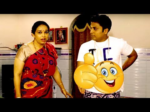 Husband & Funny Wife Comedy | Marathi Latest Comedy Jokes