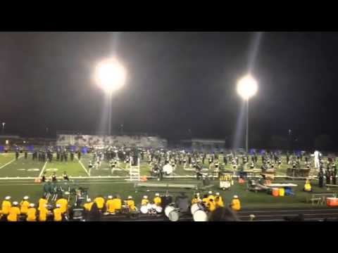 Palmetto Ridge High School Marching Band August 2014