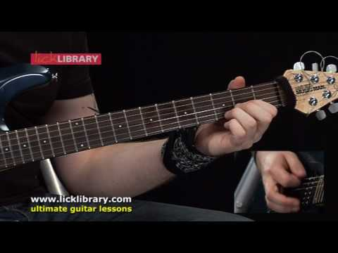 Avenged Sevenfold - Bat Country - Guitar Lesson With Andy James [licklibrary] video