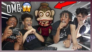 TRY NOT TO GET SCARED 😱 WE WERE TERRIFIED 😭