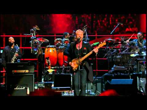 Sting &amp; Stevie Wonder -- Roxanne (The Police)