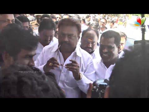 Vijayakanth, Sarathkumar, Radha Ravi, Raadhika at Tamil Film Producers Council Election