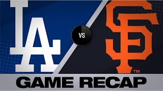 Bellinger paces offense in Dodgers' 9-2 win | Dodgers-Giants Game Highlights 9/27/19