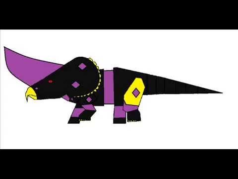 Ancient Neo Dino Zord roars