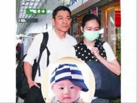 劉德華Andy Lau帶妻女回家, 抱7磅B小龍女, 狂喜流淚 ✿◠‿◠Amazing Grace